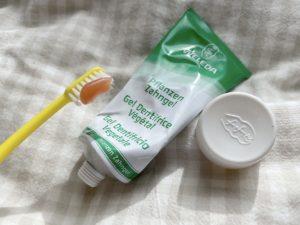 オーガニック歯磨き粉